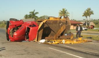 Accidente en Pinar del Río