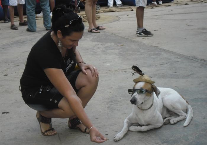 En el parque Almendares me encontré con Cuco.