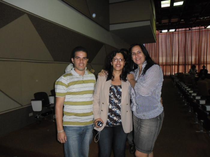 con los compañeros del Palacio Central de Computación