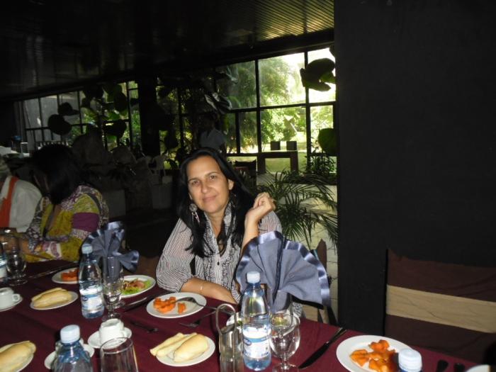 Una cena en el hotel Palco