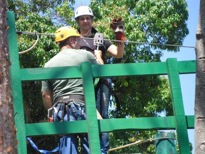 Canoply tour en Las Terrazas