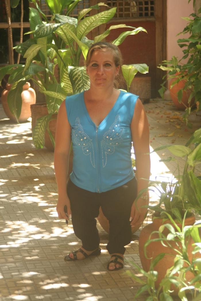 Yuliet García es ejemplo de voluntad y perseverancia