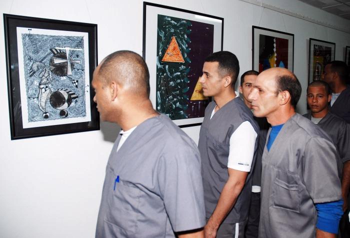 Los reclusos tienen amplia participación en la vida cultural