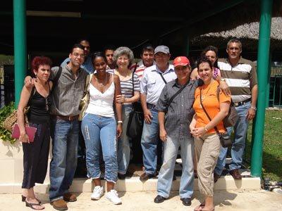 Periodistas sanjuaneros de recorrido por este territorio