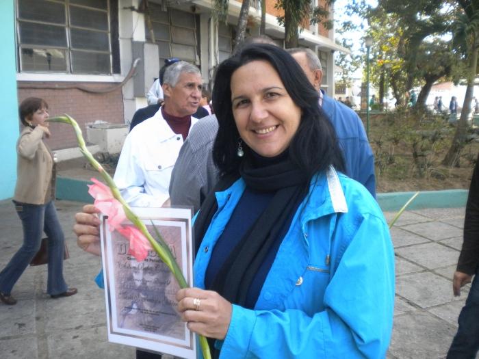 Premio concurso Huracan en Pinar del Río