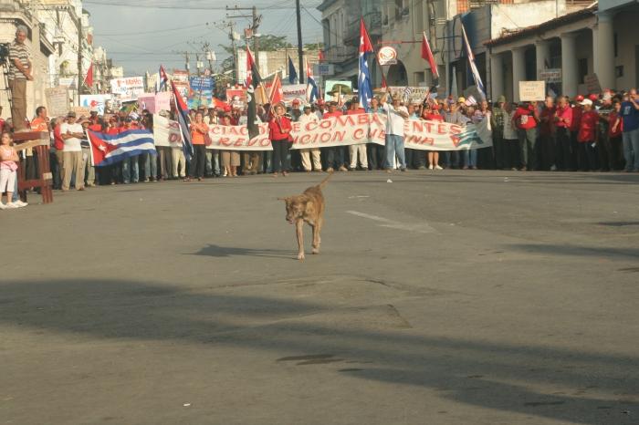 Desfile de Primero de Mayo en Pinar del Río