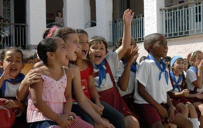 Los niños en Cuba