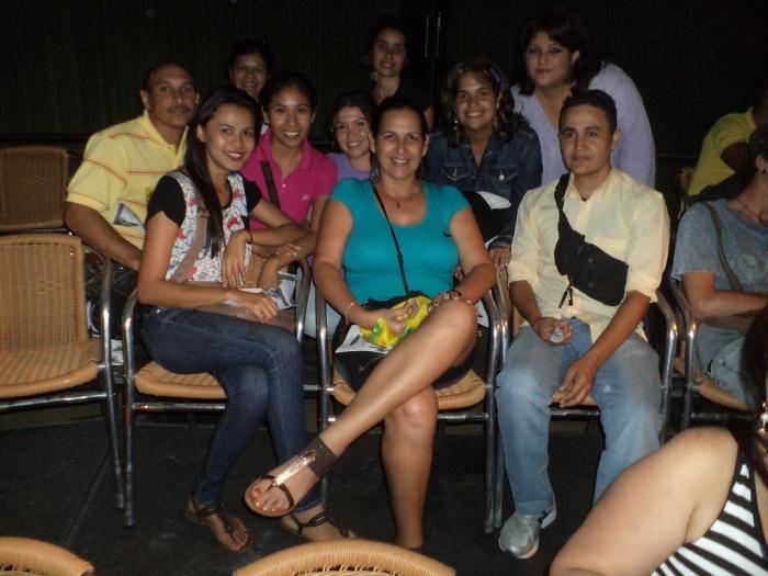 Junto a los colegas del postgrado de Hipermedia