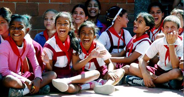 Ellos en Cuba tienen el derecho a sonreír, a ser felices