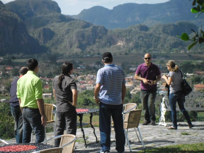 En la Ermita bello centro turístico de Viñales