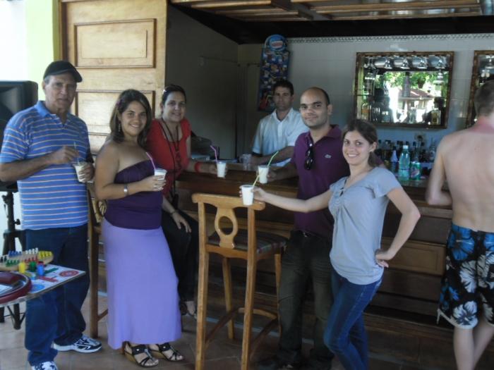 En el Rancho San Vicente, otra de llas instalaciones turísticas de Viñales