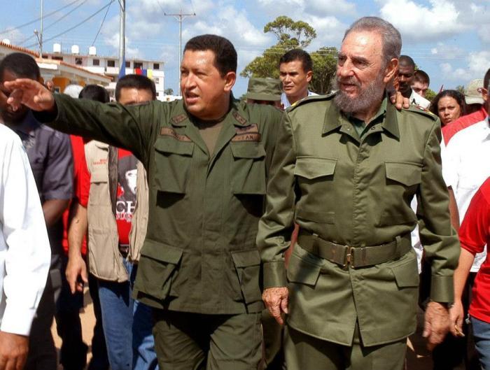 Fidel y Chávez abrieron las sendas de los pobres