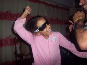 Aquí les presento a Liany, la experta bailadora