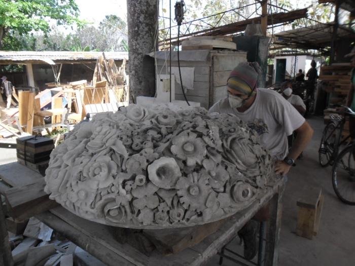 La laboriosidad predomina en los talleres del Proyecto local Fidias