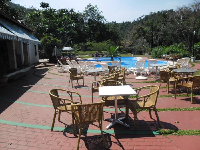 Piscina del hotel La Moka