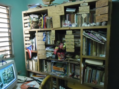 Un espacio muy personal que adoro: la pequeña biblioteca