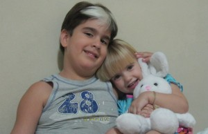 Alessandra y Hectico, los nenes de mi departamento