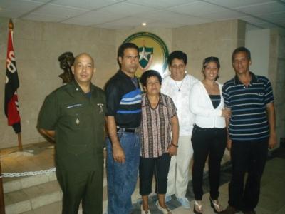 Nemesia en un recorrido por Pinar del Río