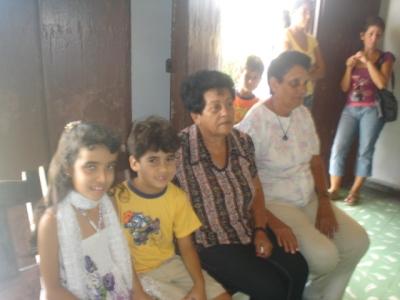 Nemesia, en Pinar del Río, refiere que los niños merecen un mundo colmado de felicidad