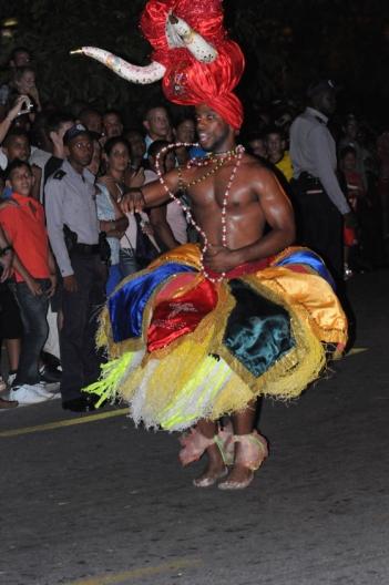 Un diablillo en los carnavales
