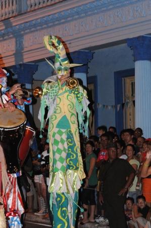 otro de los personajes del carnaval pinareño