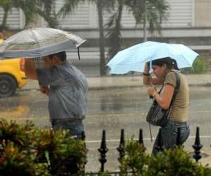 Intensas lluvias en Pinar del Río