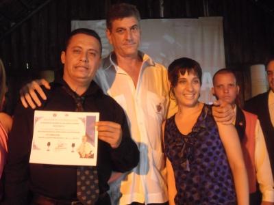 Leonides Pupo obutvo el primer lugar  en el evento Havana Club Favio Delgado