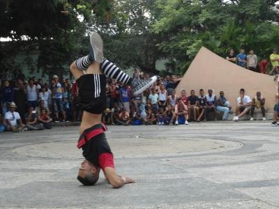 Carlos Bauta fue el ganador en este evento Break Dance en Pinar del Río