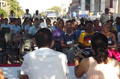 El Festival Mundial de la Juventud y los Estudiantes (FMJE) en Pinar del Río, comenzó con el debate en talleres, seminarios y conferencias sobre los principales temas a debatir en Ecuador.
