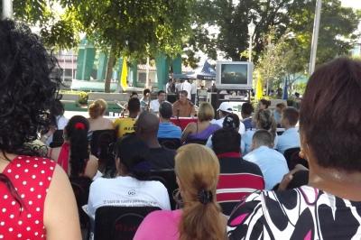 Sesiona El Festival Mundial de la Juventud y los Estudiantes (FMJE) en Pinar del Río