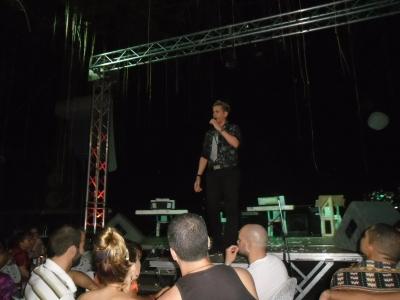 Eduardo Eduardo, uno de los invitados al concierto de La Mora