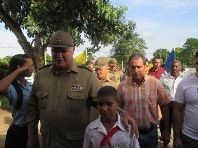 Orlando Cardoso Villavicencio en Sandino, Pinar del Río