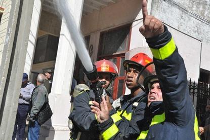 Incendio en el Incendio en Pinar del Río