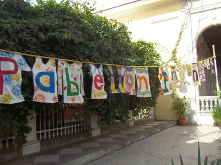El pabellón infantil está ubicado en la Piscuala