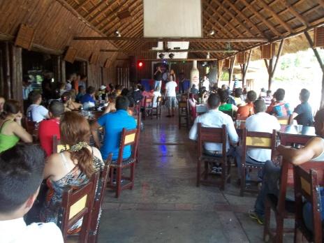 La Sandunga en Pinar del Río fue el lugar donde se desarrolló la exhibición por el Día del Amor