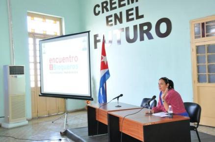 En el encuentro regionald e blogueros en Pinar del Río