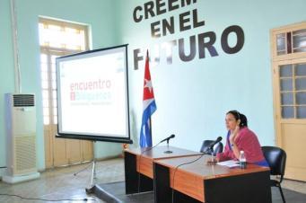 En el encuentro regional de blogueros en Pinar del Río