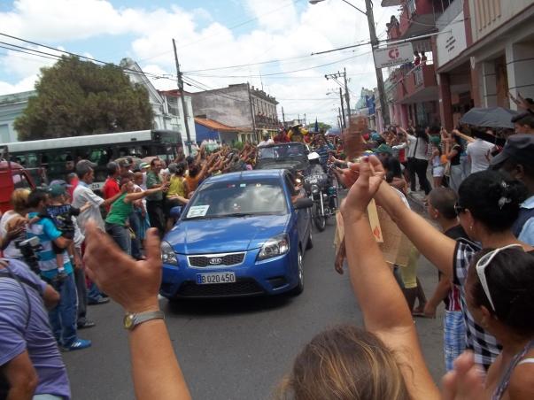 La alegría reina en Pinar del Río con la llegada de los peloteros