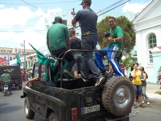 Osmay reportando para Guerrillero