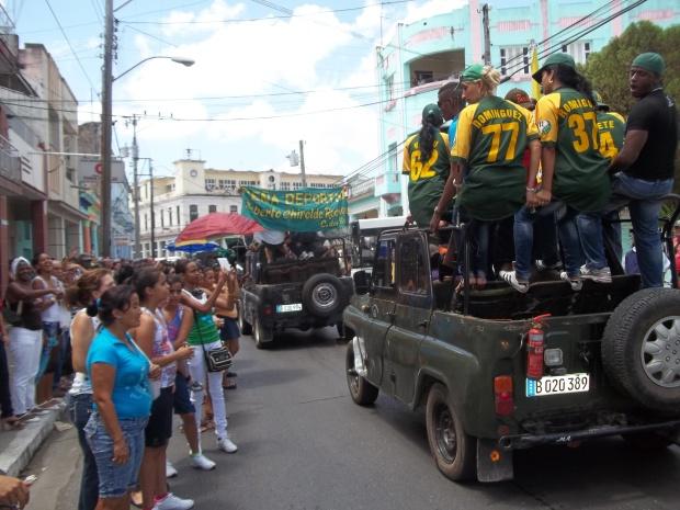 Pinar del Río de fiesta con sus campeones