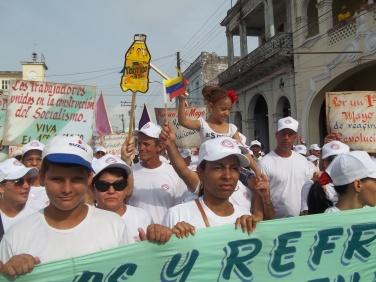 desfile de Primero de Mayo de Pinar del Río