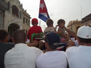 Colorido este Primero de Mayo en Pinar del Río