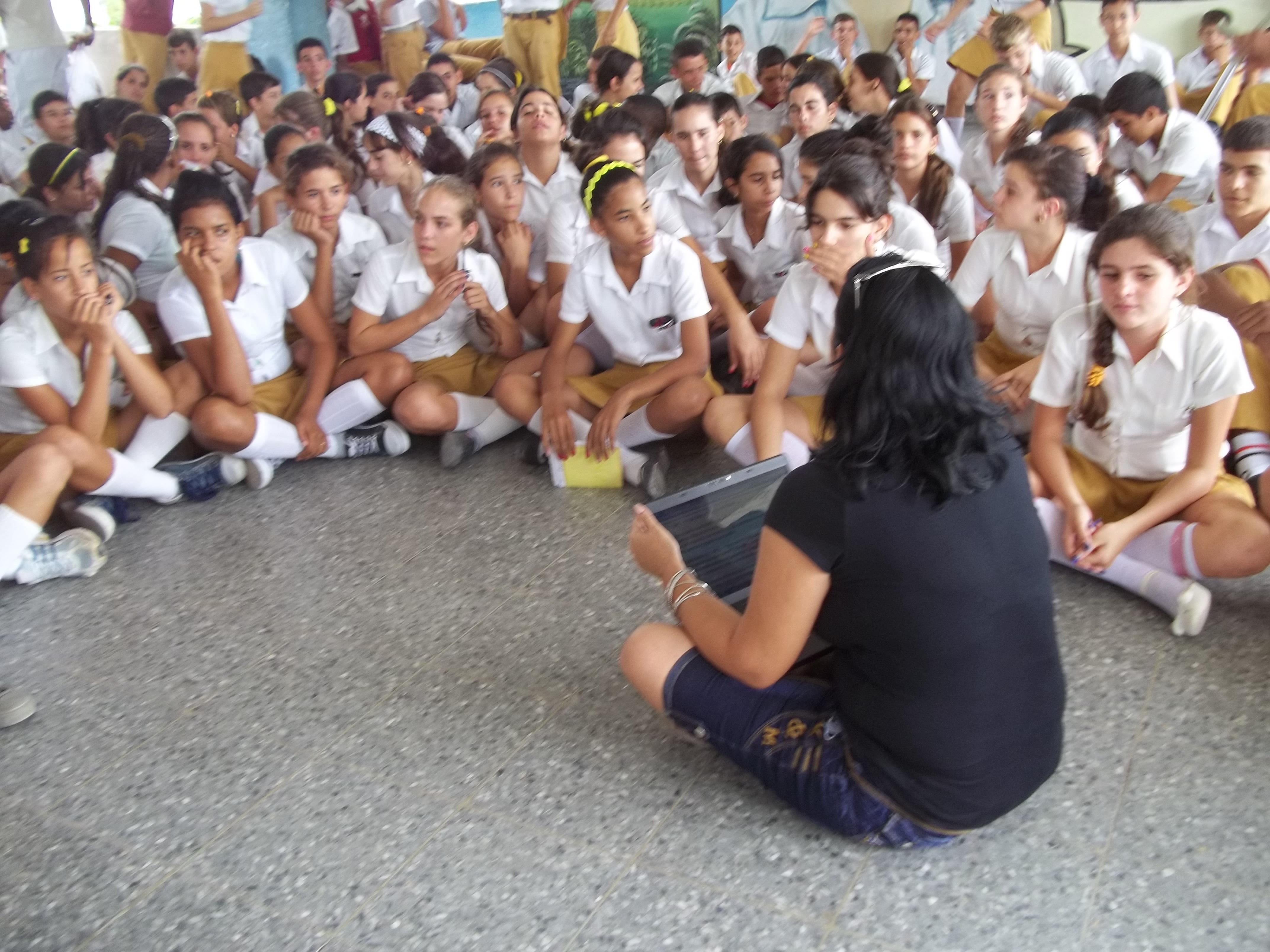 Materializan pedagogos charlas educativas sobre sexualidad y valores humanos
