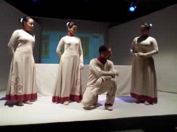 Grupo de teatro Alas, colmados de profesionalidad.