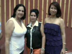 Con estudiantes de Comunicación Social de Pinar del Río