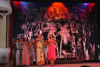 La corte del Faraón en teatro Milanés