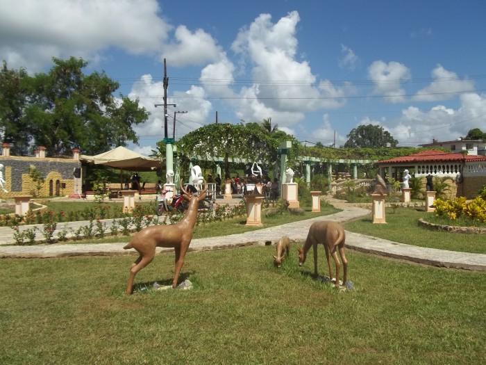 Parque de las Esculturas del proyecto Fidias