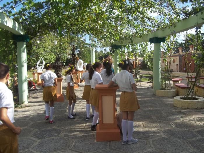 Proyecto Con luz propia disfruta de las bellezas del parque de las esculturas