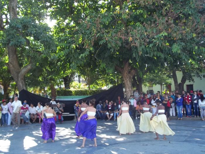 Los proyectos comunitarios y culturales se presentaron en el parque Roberto Amarán