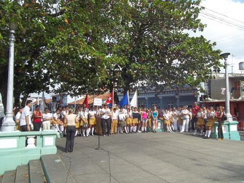En Pinar del Río se rinde homenaje a Martí